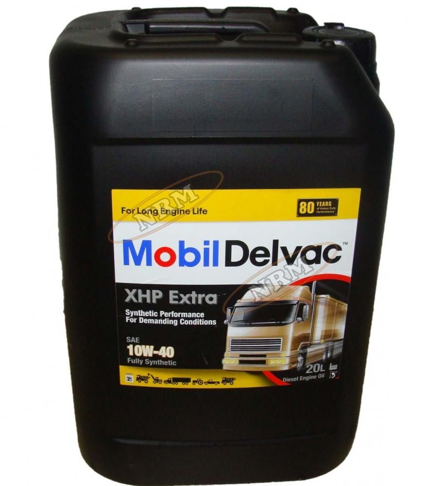 152712 0) а/масло mobil delvac xhp extra 10w40 20 л торговая марка